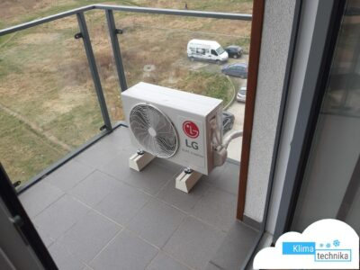 klimatyzator LG zewnętrzny