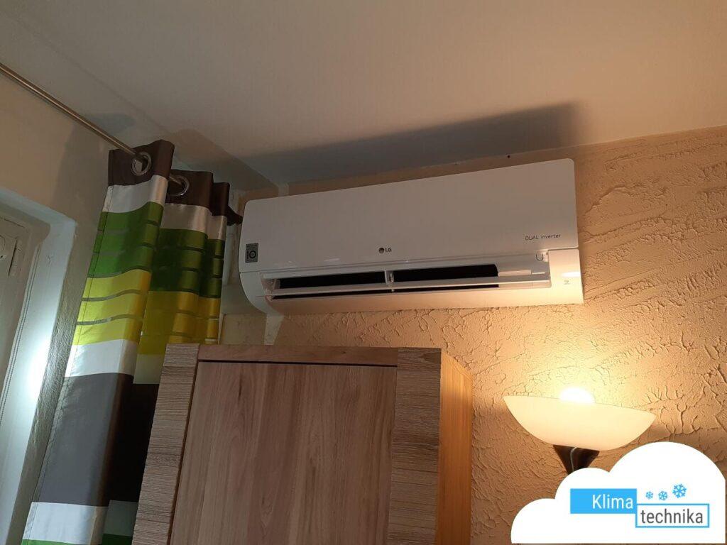 klima LG na ścianie